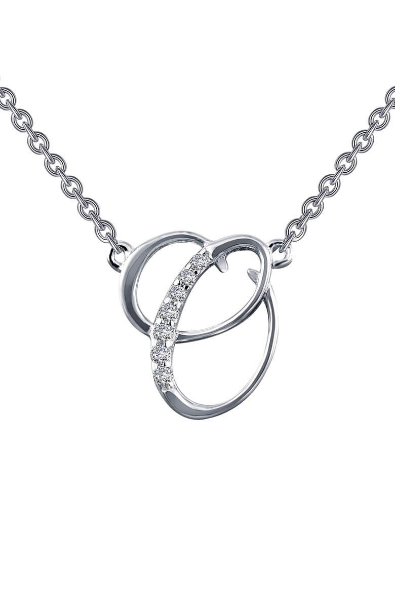 LAFONN Initial Pendant Necklace, Main, color, 041