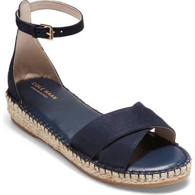 Cole Haan Cloudfeel Espadrille Sandal B - Blue