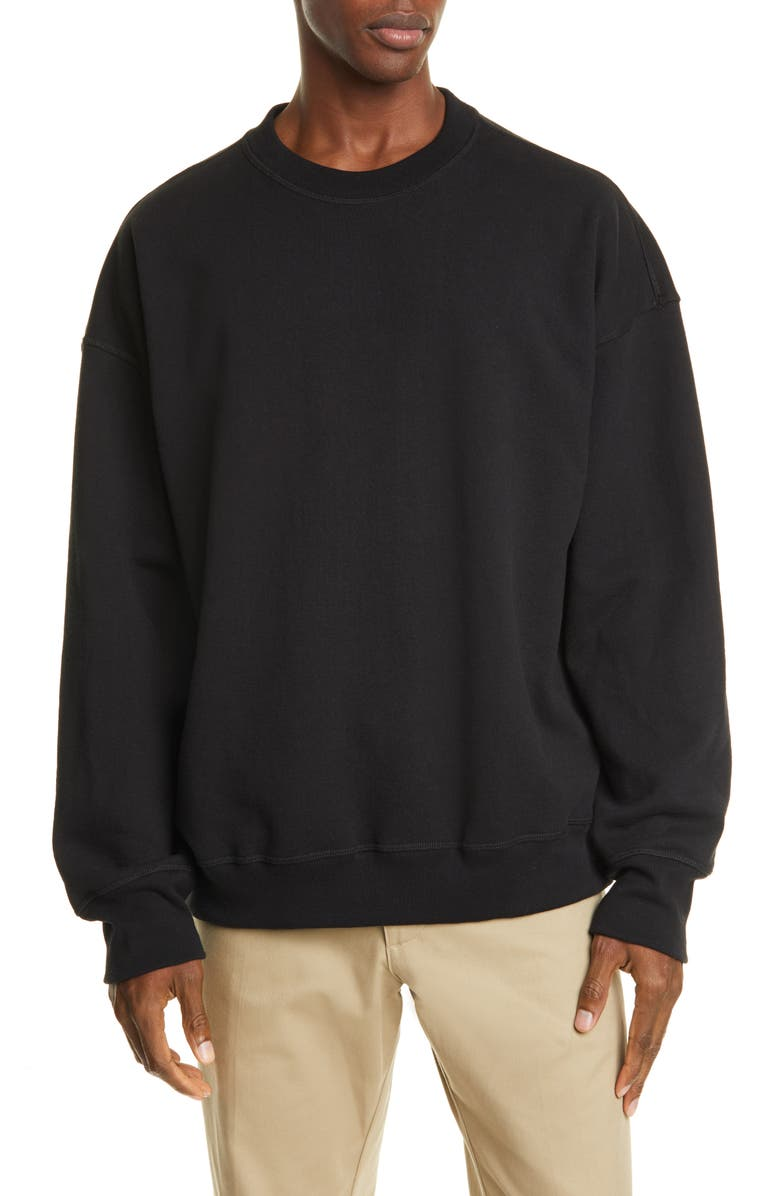 NOON GOONS Icon Sweatshirt, Main, color, WASHED BLACK