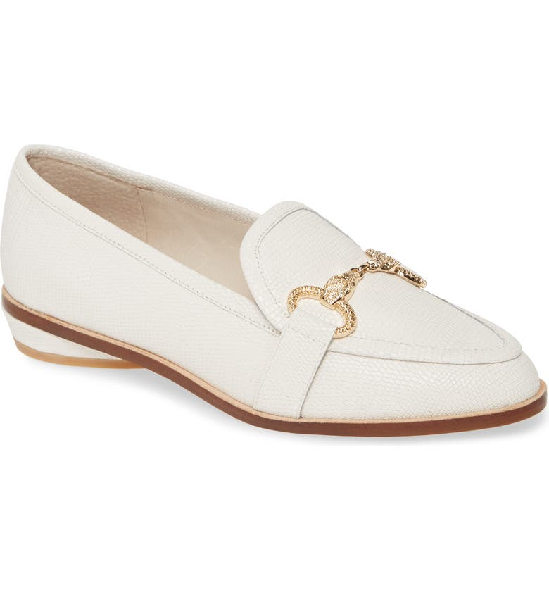 CECELIA NEW YORK Fenton Loafer, Main, color, WHITE LEATHER