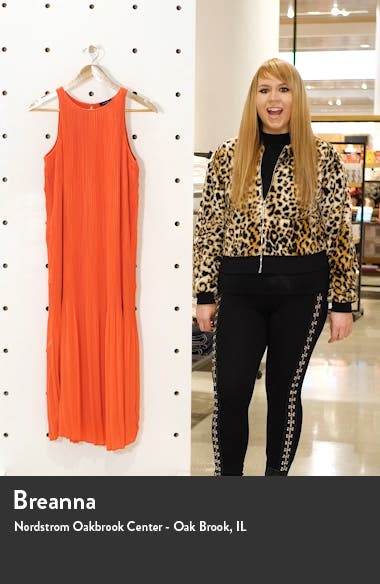 Sleeveless Pleated Dress, sales video thumbnail