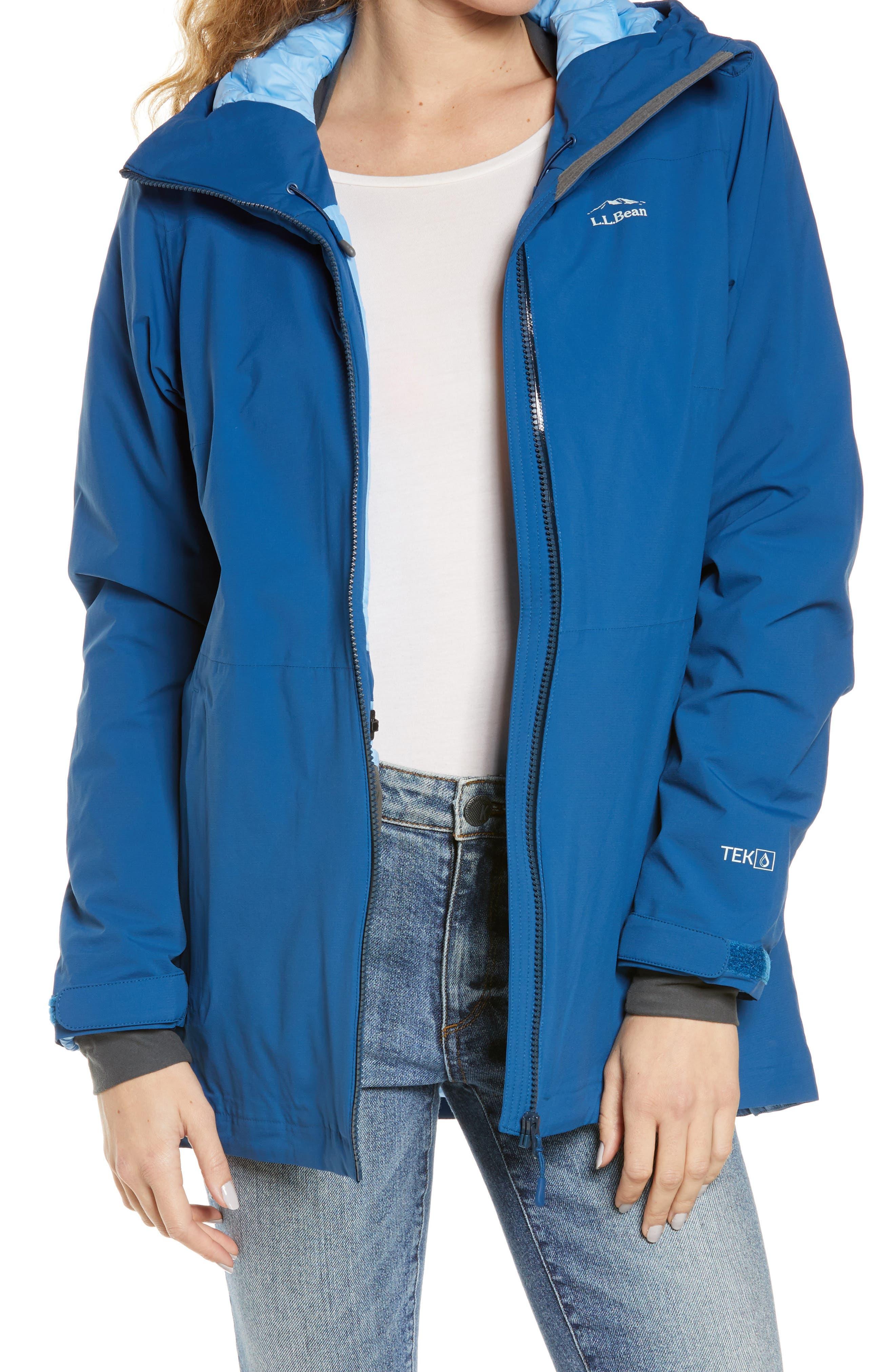 Waterproof Primaloft Packaway Hooded Jacket