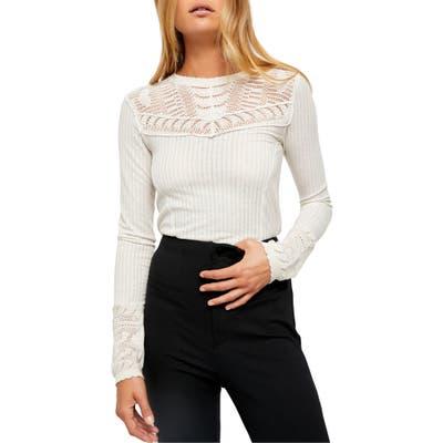 Free People Colette Sweater, Beige