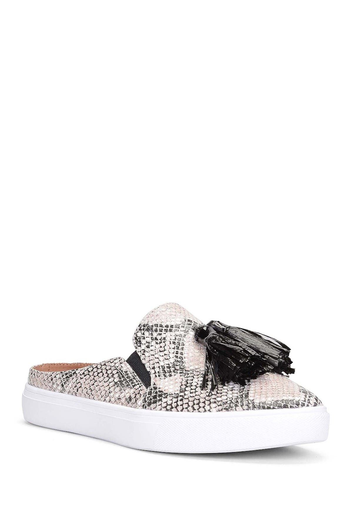 Image of Donald Pliner Pauly Tassel Slip-On Mule