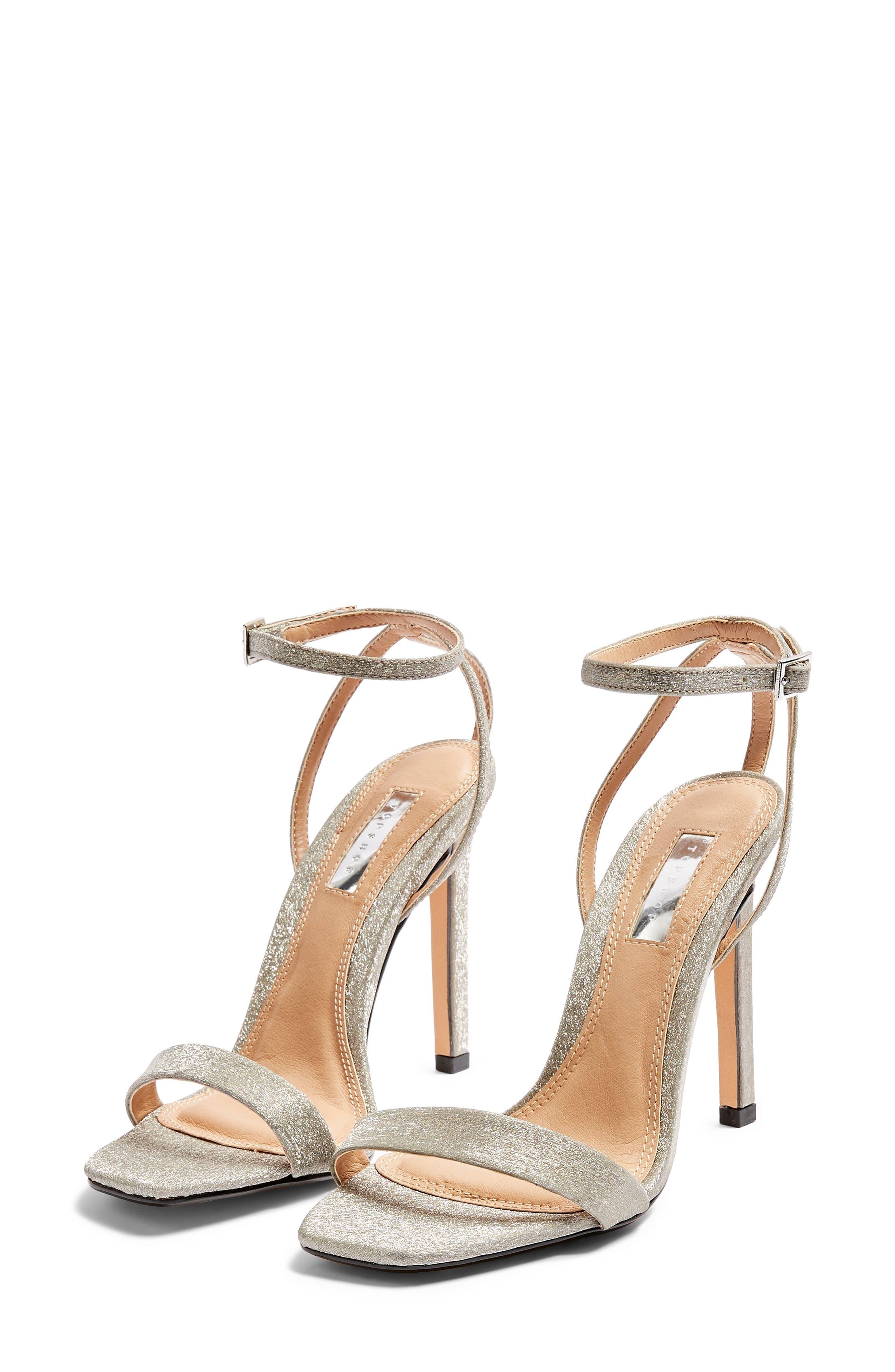 Topshop Saskia Ankle Strap Sandal (Women)