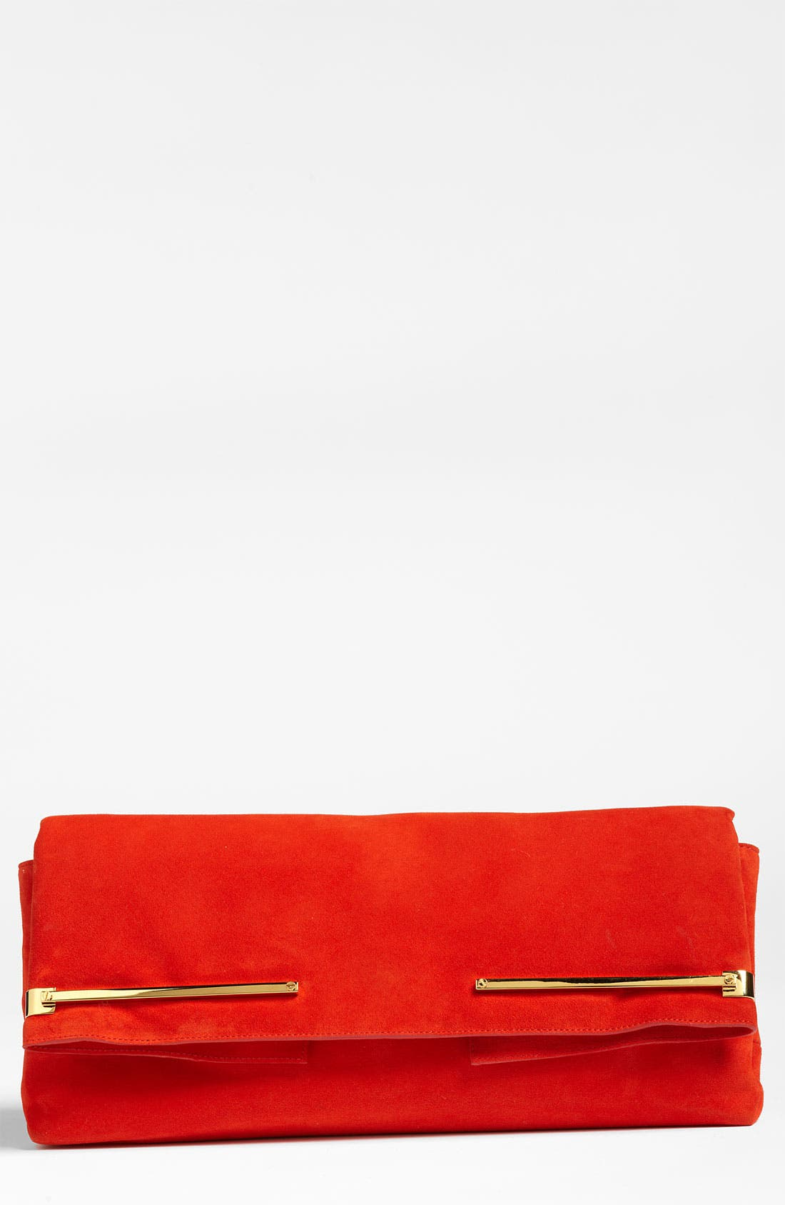 ,                             Leather Clutch,                             Main thumbnail 1, color,                             600