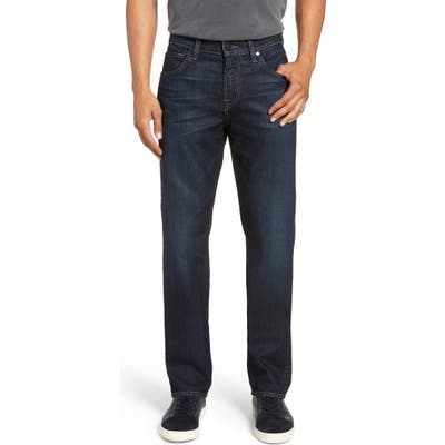 7 For All Mankind The Straight Airweft Slim Straight Leg Jeans, Blue