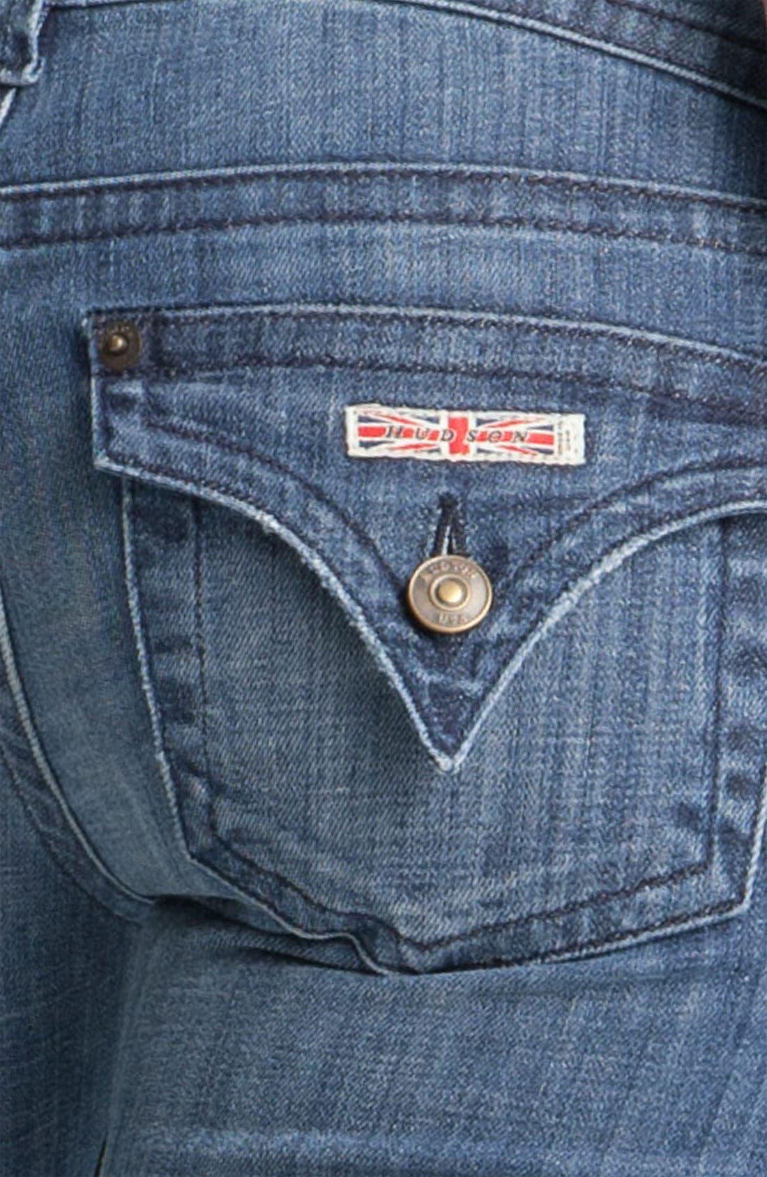 ,                             Signature Flap Pocket Bootcut Jeans,                             Alternate thumbnail 26, color,                             402