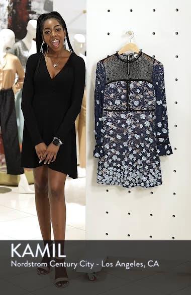 Felicia Floral Appliqué Dress, sales video thumbnail
