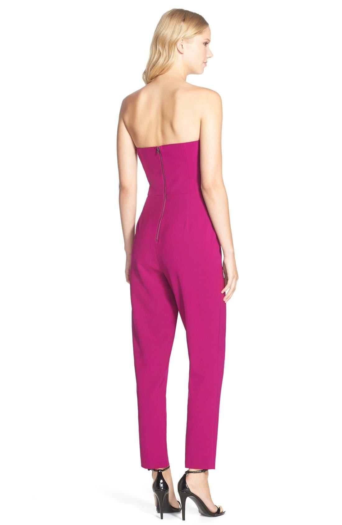 ,                             Strapless Slim Leg Jumpsuit,                             Alternate thumbnail 39, color,                             651