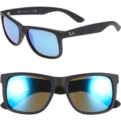 Ray-Ban Youngster 5m Sunglasses - Black/ Green Mirror/ Blue