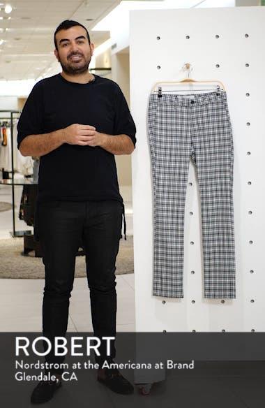 Check Stretch Skinny Fit Dress Pants, sales video thumbnail