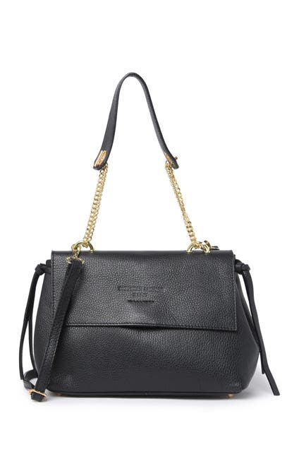 Image of CHRISTIAN LAURIER Grace Pebbled Shoulder Bag