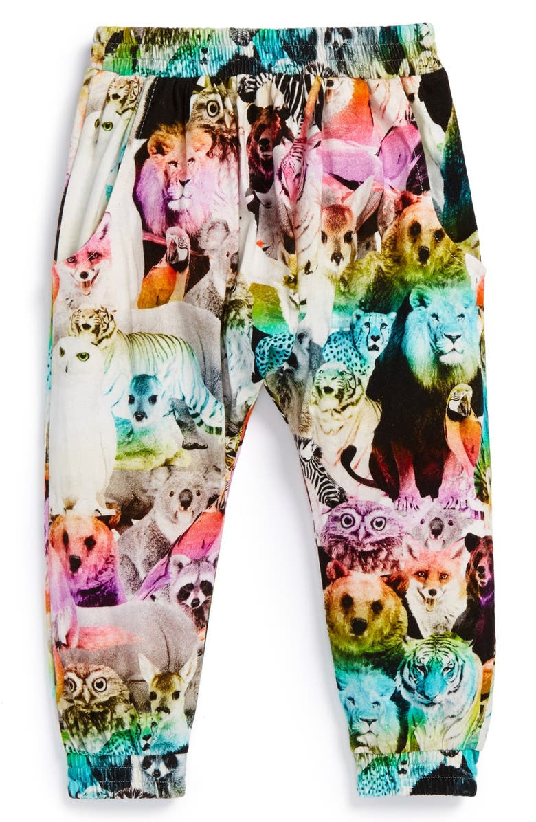 9bb9125e96dc6 Munsterkids 'Zoo' Cotton Track Pants (Toddler Girls & Little Girls ...