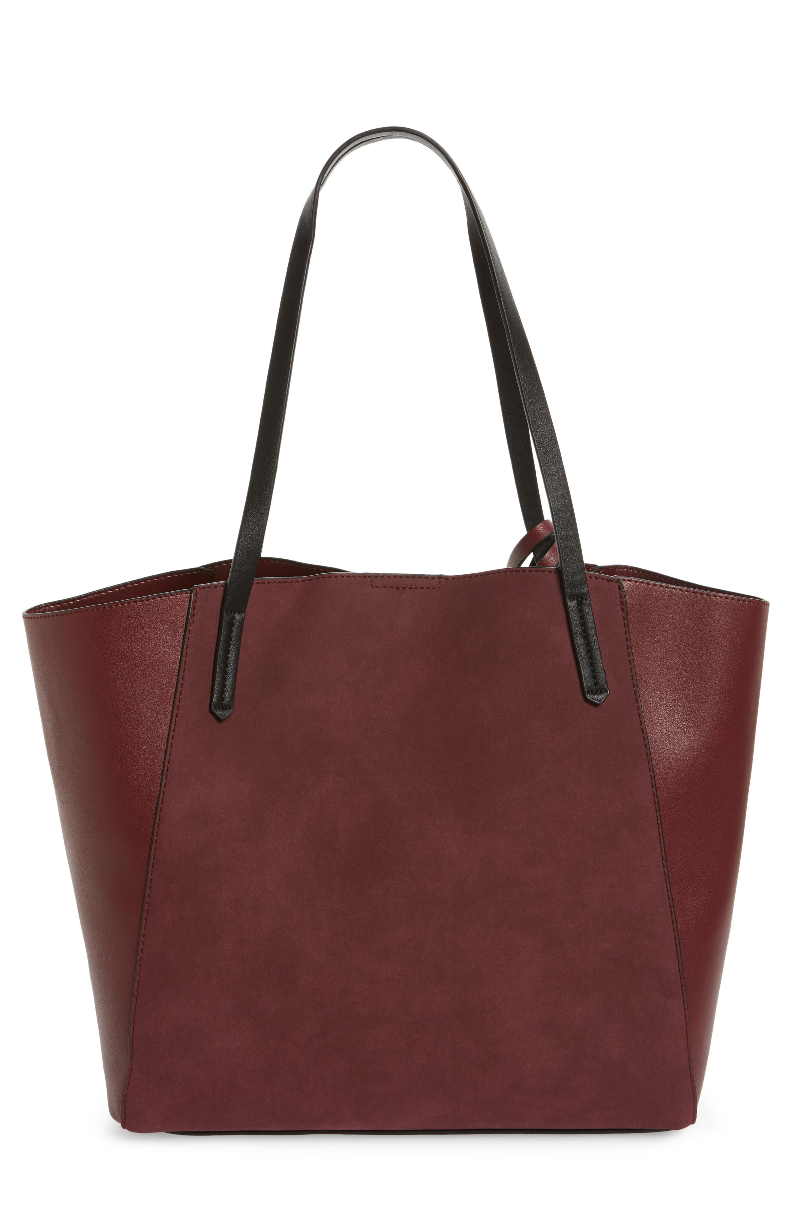,                             Colorblock Faux Leather Tote,                             Main thumbnail 36, color,                             930