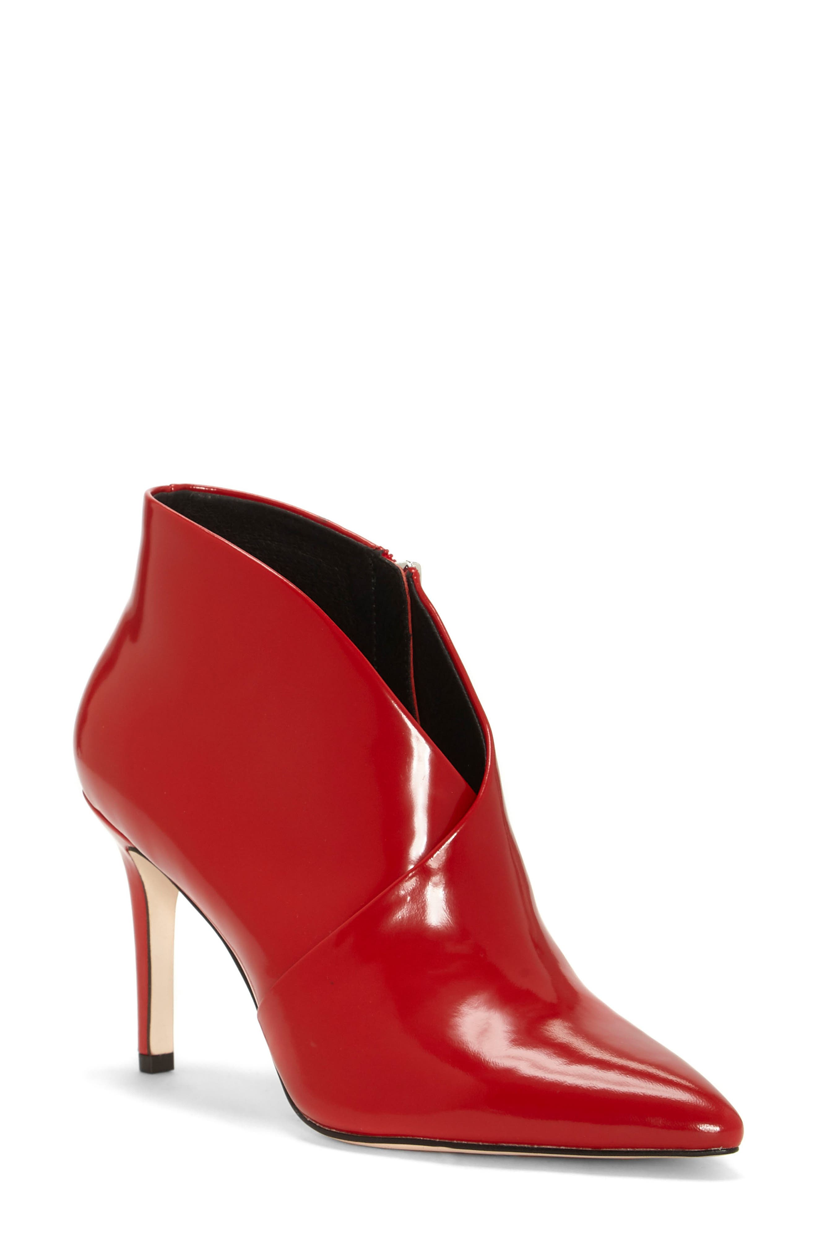 Jessica Simpson Layra Bootie, Red