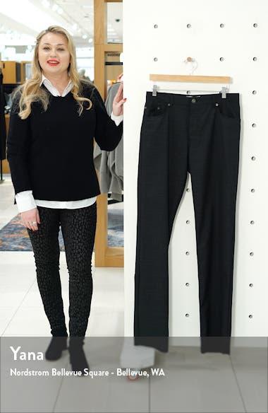 Cooper Check Wool Five Pocket Pants, sales video thumbnail