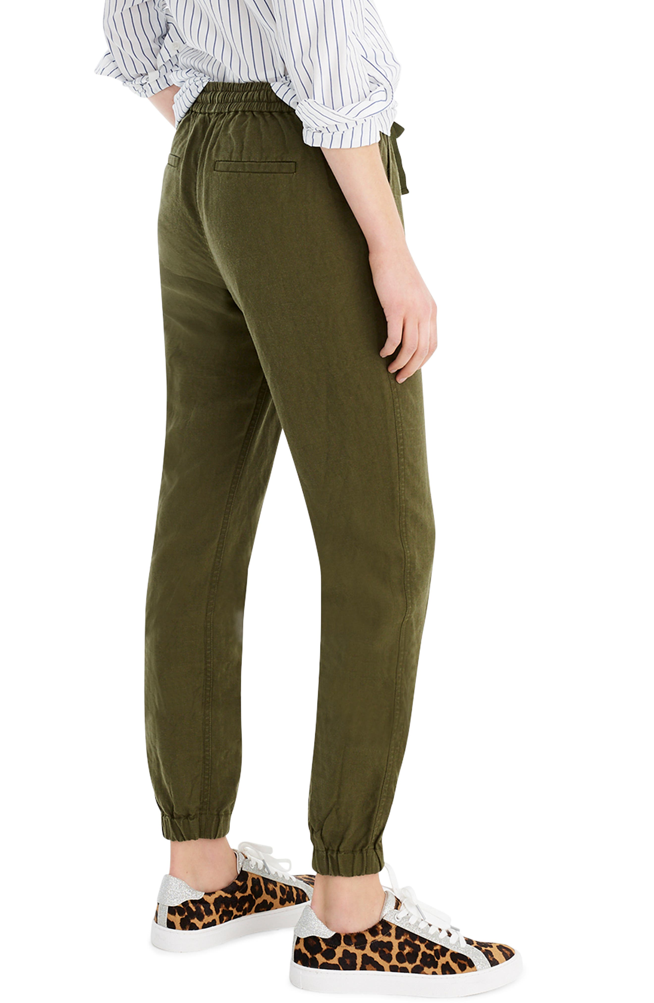 ,                             New Seaside Pants,                             Alternate thumbnail 2, color,                             LODEN GREEN