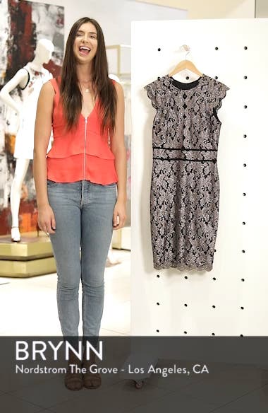 Scallop Detail Lace Dress, sales video thumbnail