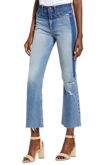 Image of HUDSON Jeans Holly High Waist Crop Flare Jeans