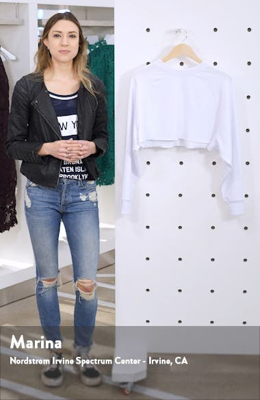 Double Take Crop Sweatshirt, sales video thumbnail