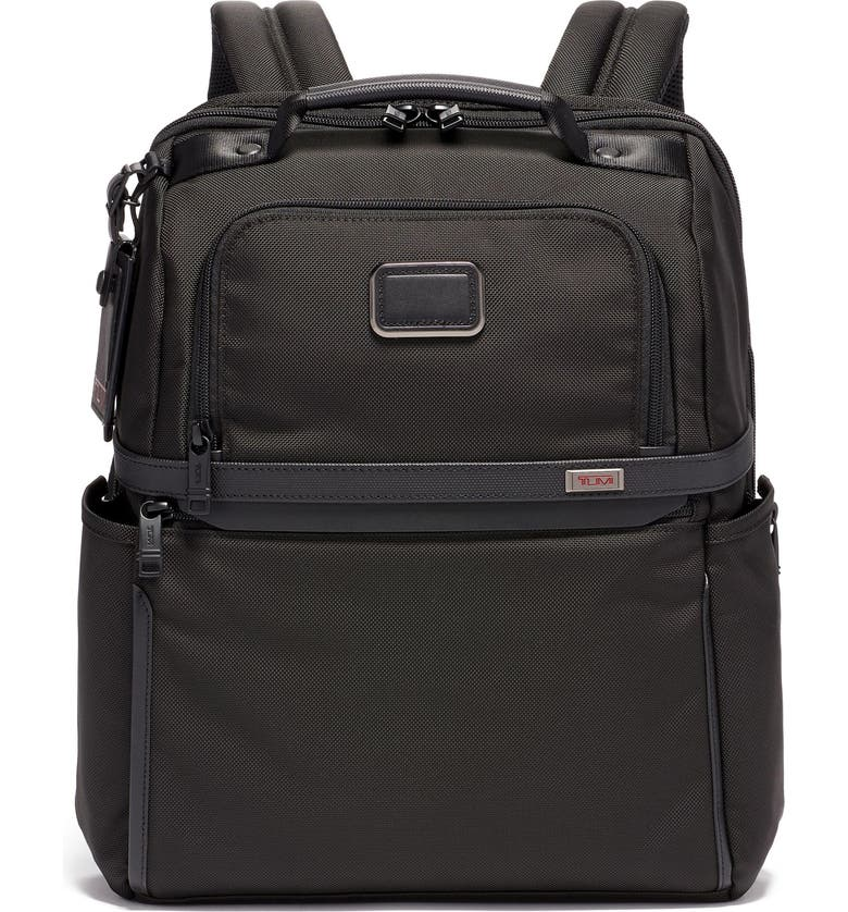 TUMI Alpha 3 Collection Slim Solutions Laptop Brief Pack, Main, color, BLACK
