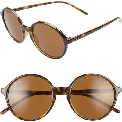Ray-Ban 5m Round Sunglasses - Havana/ Brown Solid
