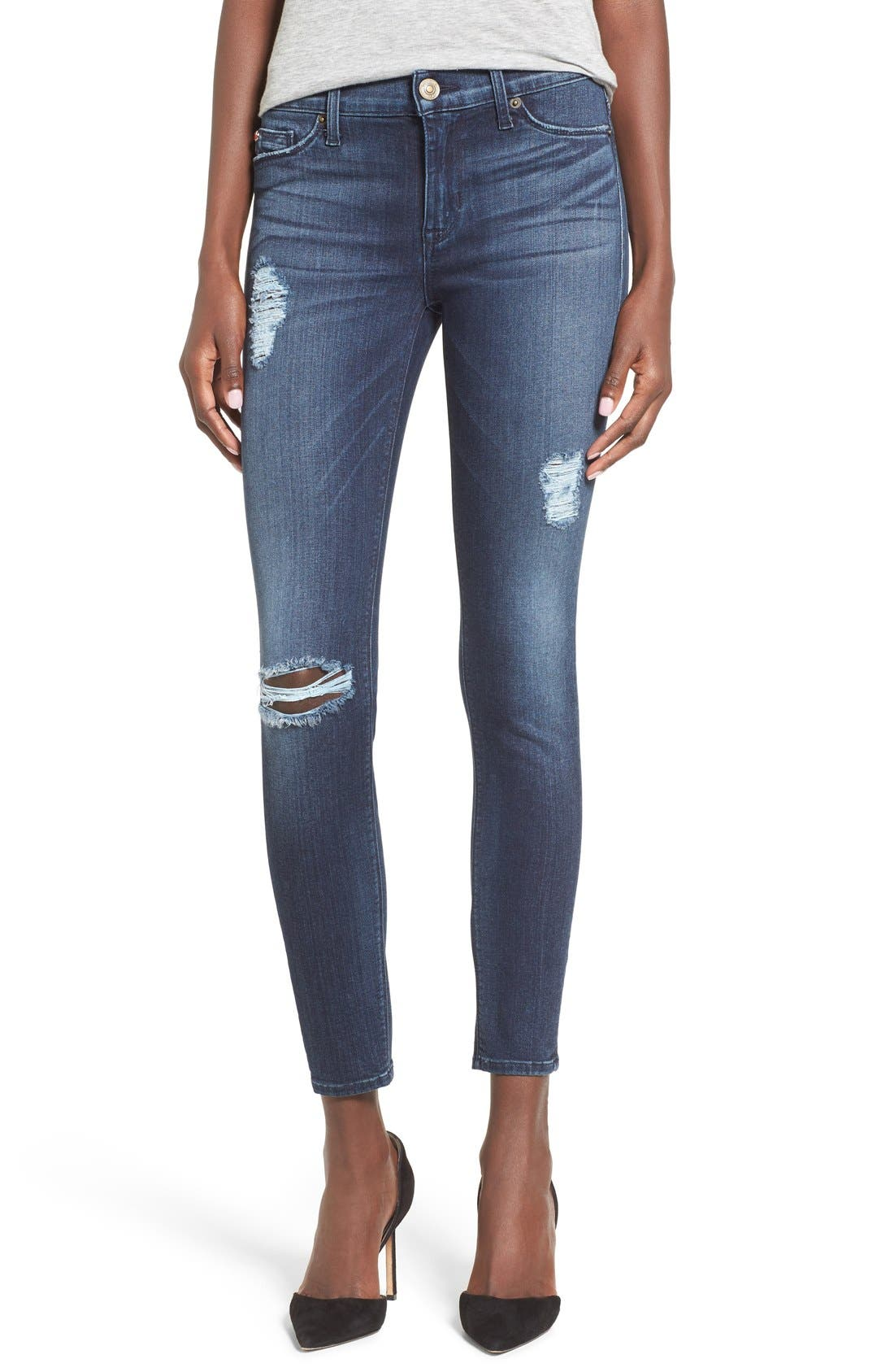 ,                             'Nico' Ankle Super Skinny Jeans,                             Main thumbnail 6, color,                             401