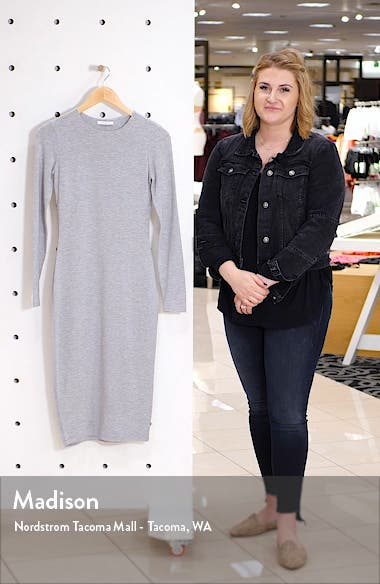 Fitted Long Sleeve Dress, sales video thumbnail