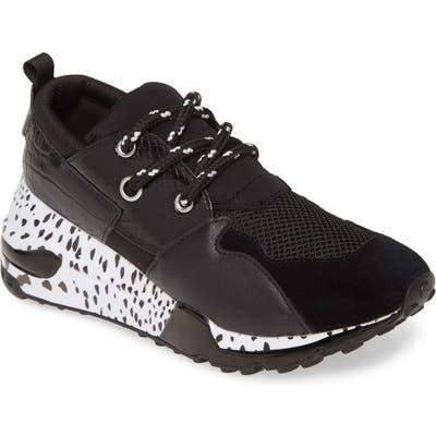 Steve Madden Cliff Sneaker, Black