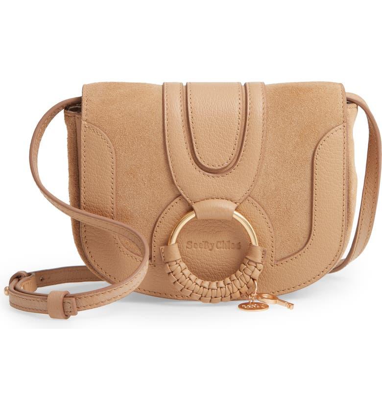 SEE BY CHLOÉ Mini Hana Leather Crossbody Bag, Main, color, 231