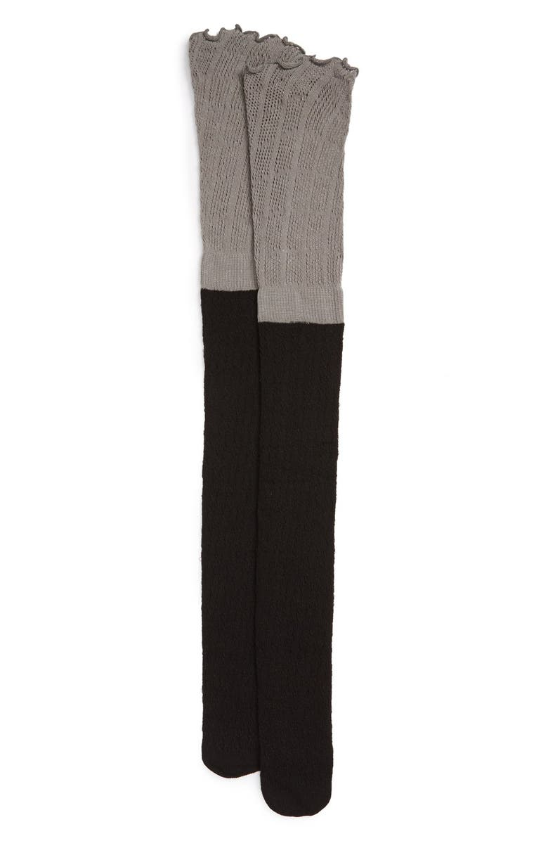 BP. Two-Tone Over the Knee Socks, Main, color, 003