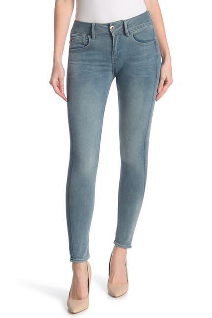 Image of G-STAR RAW Lynn Mid Rise Skinny Jeans