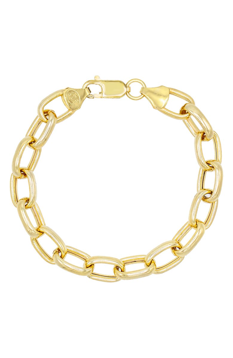 ADINA'S JEWELS Large Link Bracelet, Main, color, 710