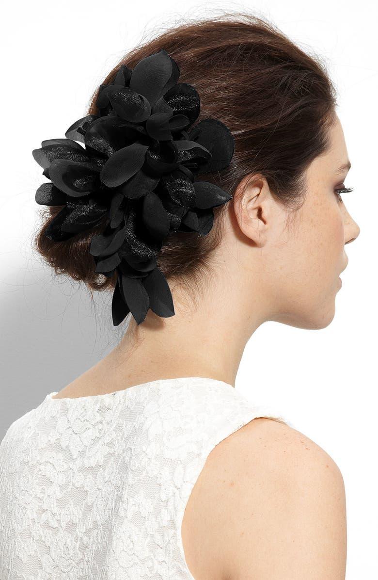 CARA 'Tropical Flower' Hair Clip, Main, color, 001