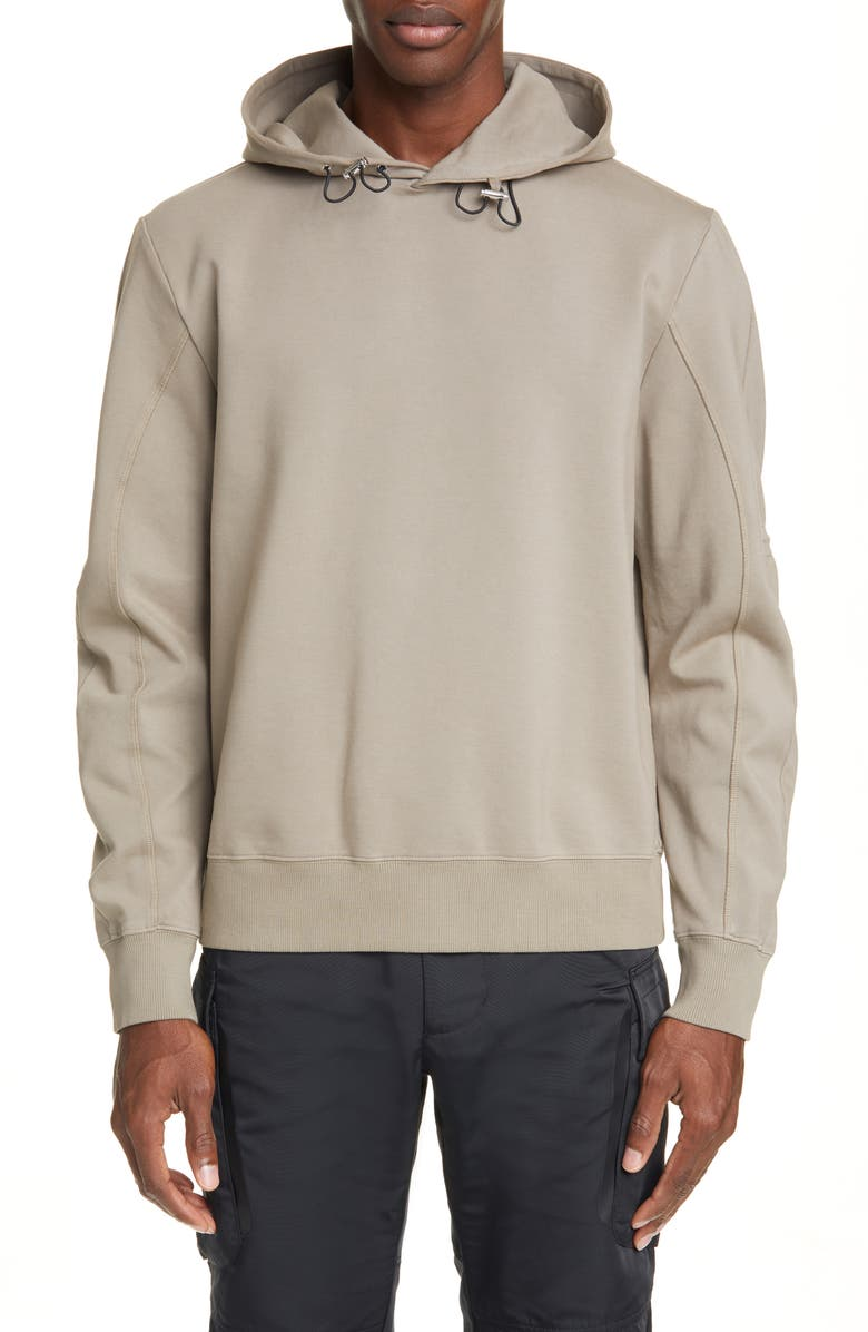 1017 ALYX 9SM Pullover Hoodie, Main, color, TAUPE