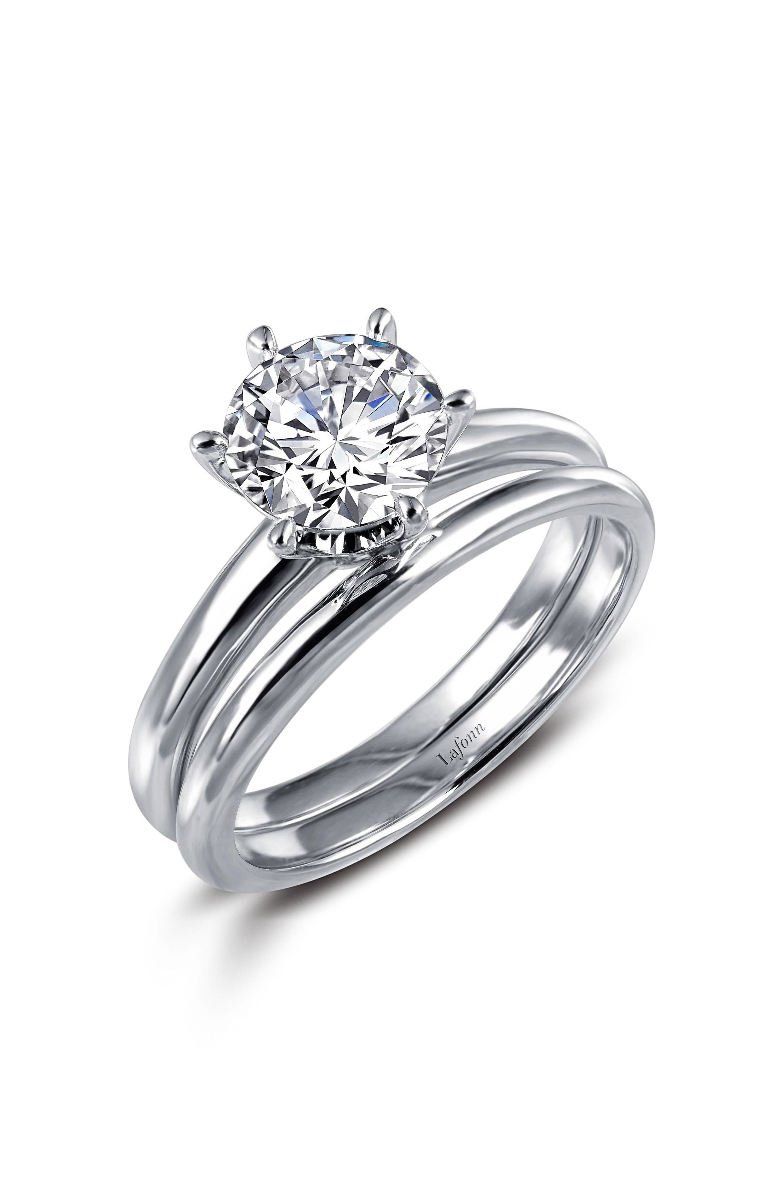 Simulated Diamond Ring