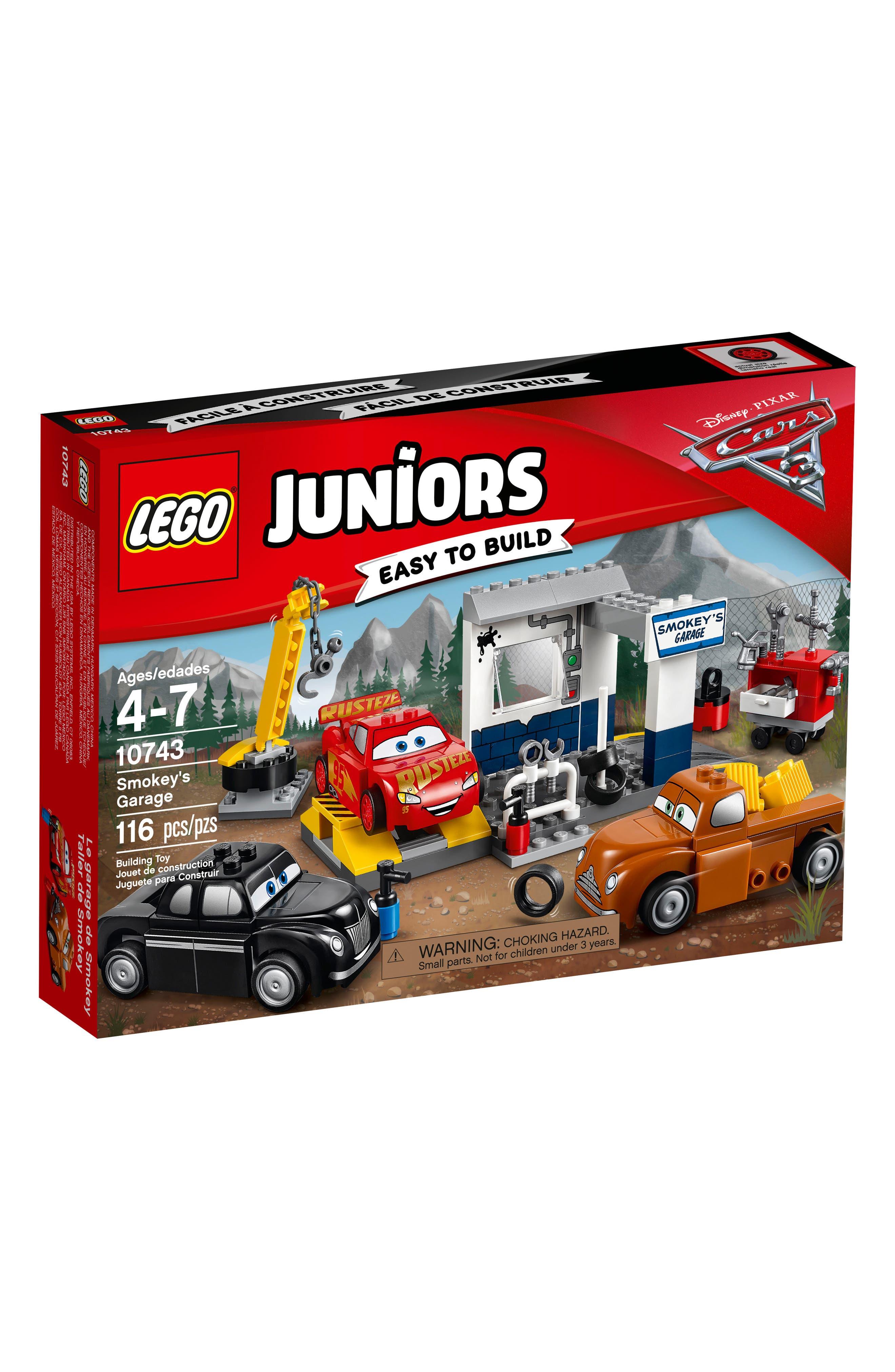 LEGO Juniors Juniors Pixar Cars 3 10743 Smokey/'s Garage NEW