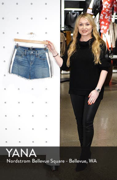 Gemma Cutoff Denim Shorts, sales video thumbnail