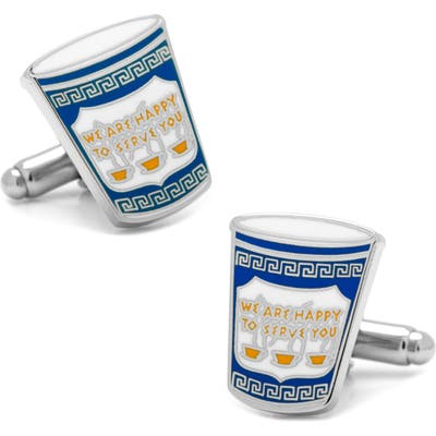 Cufflinks, Inc. Greek Coffee Cup Cuff Links
