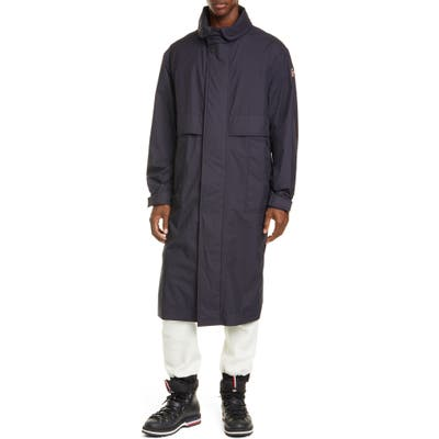 Moncler Ruinette 3-In-1 Nylon Coat, Blue