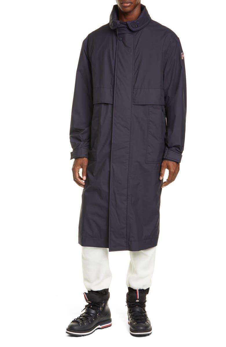 MONCLER Ruinette 3-in-1 Nylon Coat, Main, color, NAVY