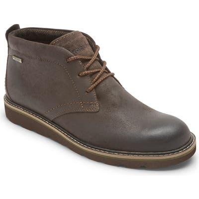 Rockport Storm Front Waterproof Chukka Boot- Brown