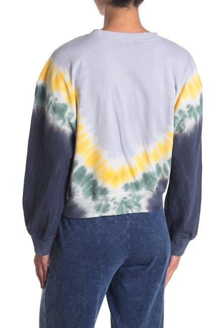 Image of SUPPLIES BY UNIONBAY Tie Dye Printed Sweatshirt