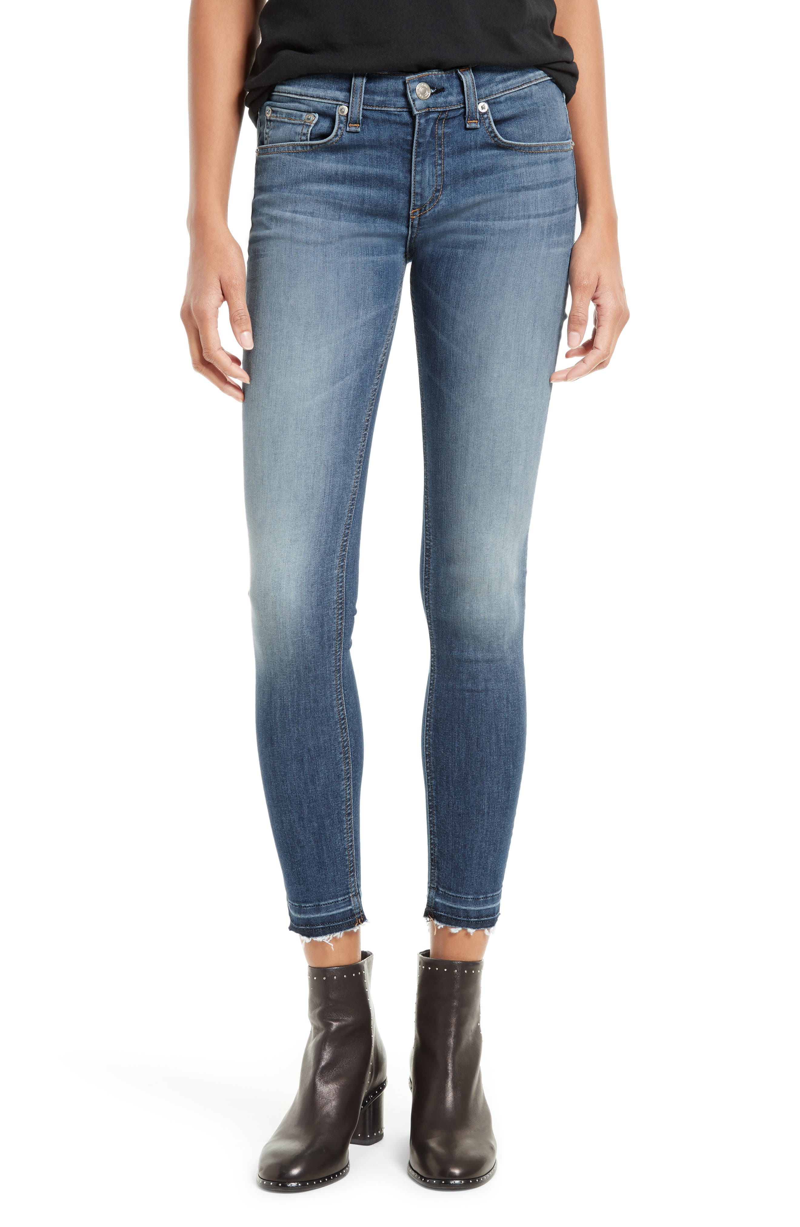 Rag /& Bone//JEAN Womens Skinny Ankle Jeans