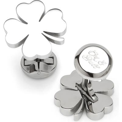 Cufflinks, Inc. Four Leaf Clover Cuff Links