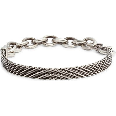 Title Of Work Mesh Bracelet