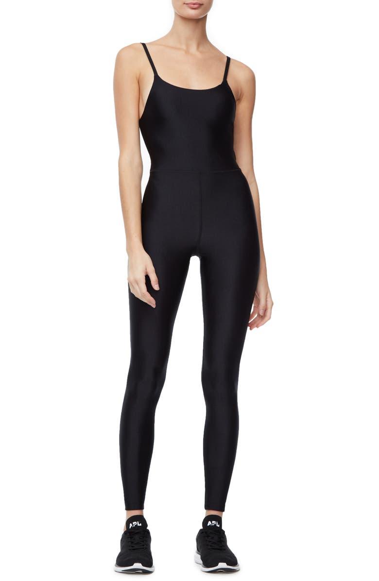 GOOD AMERICAN Jumpsuit, Main, color, BLACK003