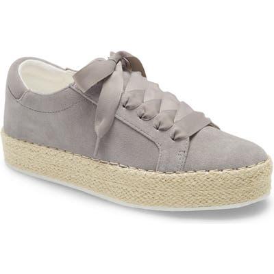 Kenneth Cole Kamspadrille Platform Sneaker, Grey