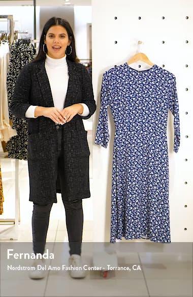 Moon Floral Long Sleeve Dress, sales video thumbnail